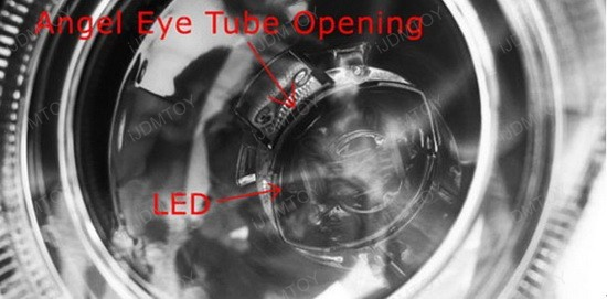 LED BMW Angel Eyes H8 Ring Marker Bulbs 5