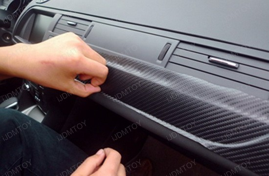 how to apply carbon fiber sheet for car interior wrap. Black Bedroom Furniture Sets. Home Design Ideas