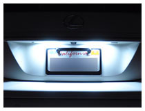 Lexus IS300 LED License Plate Lamps