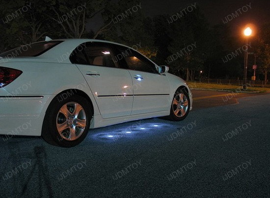 45-LED Under Car LED Puddle Lighting Kit 2