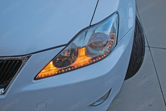 Lexus IS250 Switchback LED Strips 2