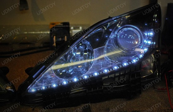 Lexus IS250 Switchback LED Strips 5