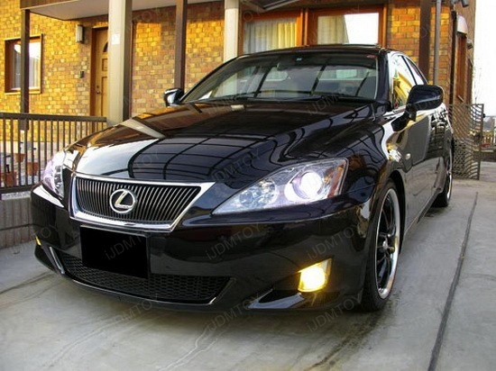 Lexus IS250 Yellow Halogen Bulbs