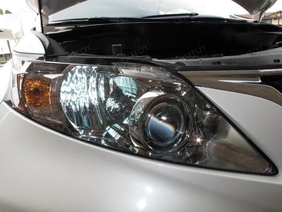 Lexus RX350 9005 LED DRL 1