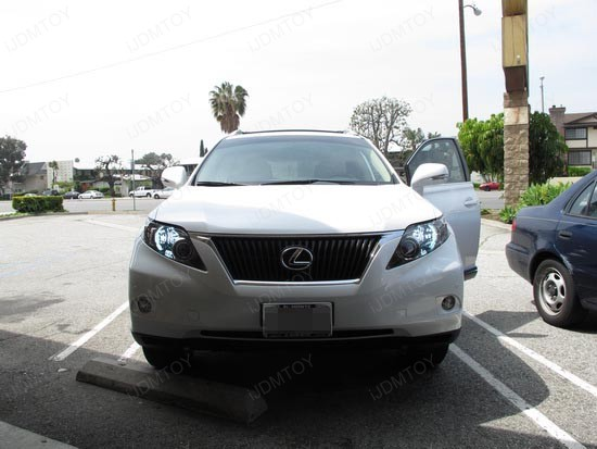 Lexus RX350 9005 LED DRL 2