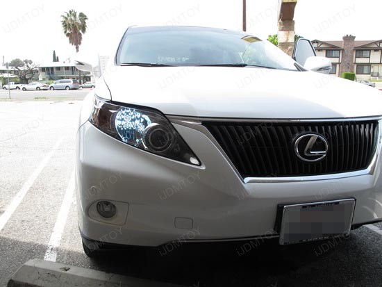Lexus RX350 9005 LED DRL 3