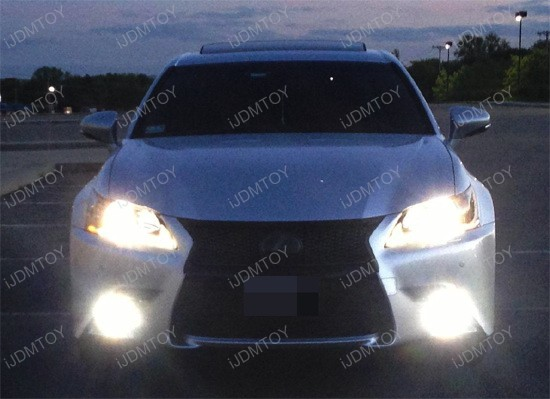 Lexus GS350 H11 LED Fog Lights 3