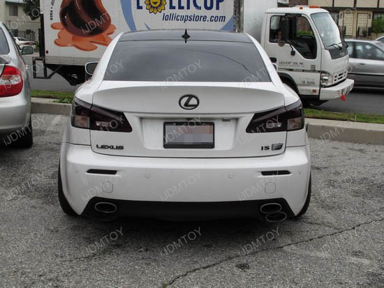 Lexus IS-F LED Bumper Reflectors 1