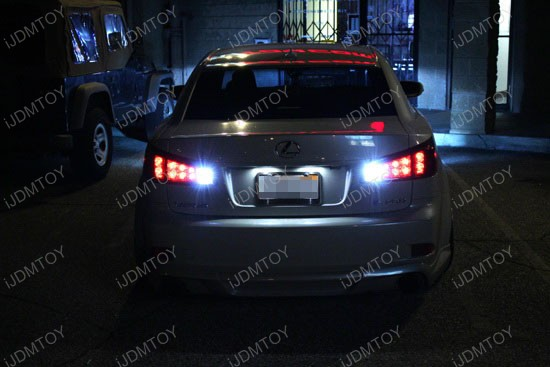 Lexus IS350 High Power Backup Reverse LED Bulbs 3