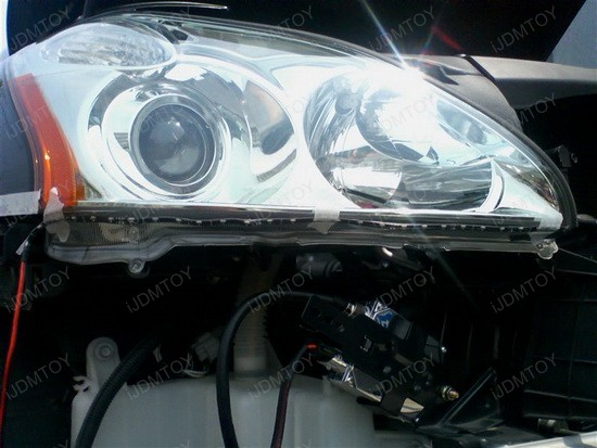 Lexus RX330 Audi R8 Style LED Strip Lights 1