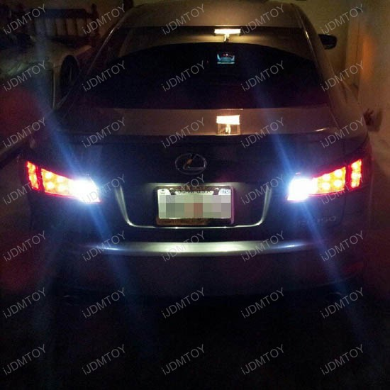Lexus IS 921 LED Backup Reverse Light Bulbs 2