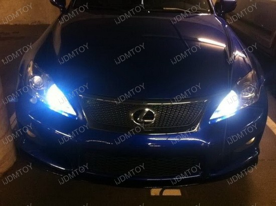 Lexus IS-F 9005 LED Daytime Running Light Kit 2
