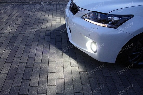 Lexus CT200h 50W CREE H11 LED Fog Light Bulbs 2