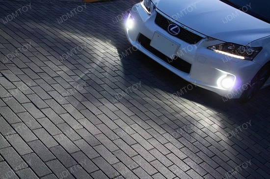 Lexus CT200h 50W CREE H11 LED Fog Light Bulbs 3