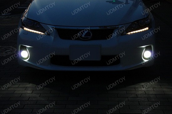 Lexus CT200h 50W CREE H11 LED Fog Light Bulbs 4