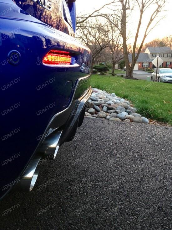 Lexus LED Rear Bumper Reflector Lights 05