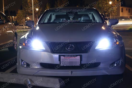 Lexus IS250 9005 LED DRL 1