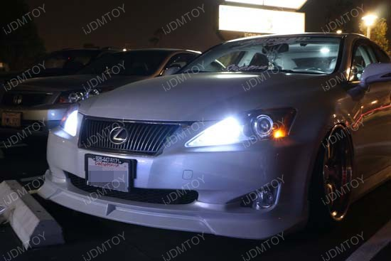 Lexus Is250 9005 Led Daytime Running Lights High Beam Kit