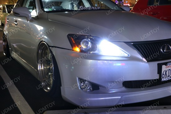 Lexus IS250 9005 LED DRL 3