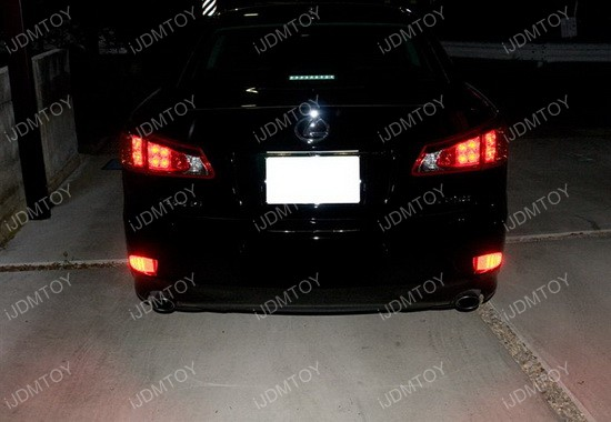 Lexus IS LED Bumper Reflectors 04
