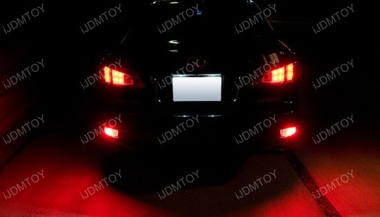 Lexus IS LED Bumper Reflectors 05