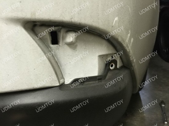 Lexus IS LED Bumper Reflector Installation 04