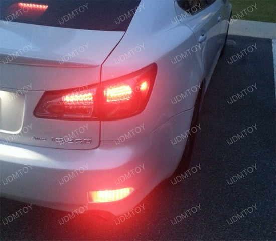 Lexus IS250 IS350 LED Bumper Reflector 03