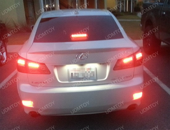 Lexus IS250 IS350 LED Bumper Reflector 04