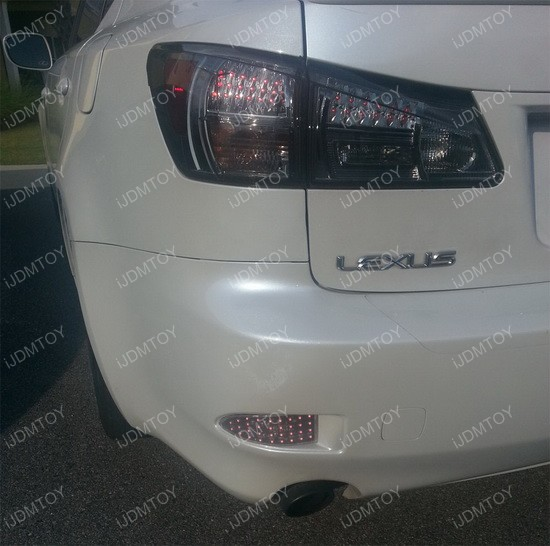 Lexus IS250 IS350 LED Bumper Reflector 05