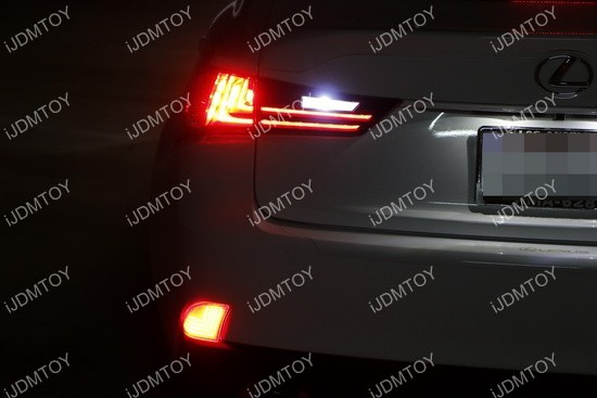 Lexus IS LED Bumper Reflector 01