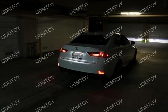 Lexus IS LED Bumper Reflector 03