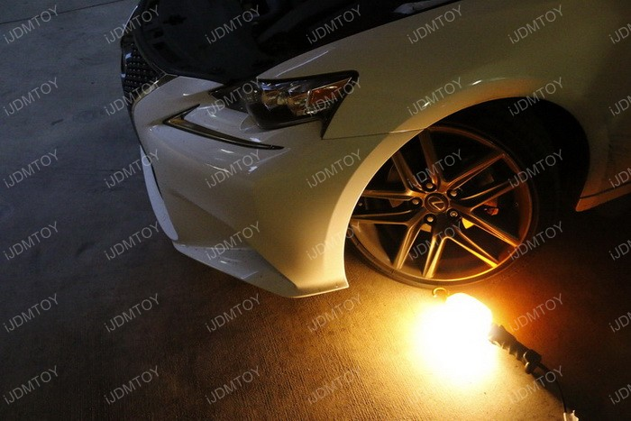 Lexus IS F Sport Fog Installation 01