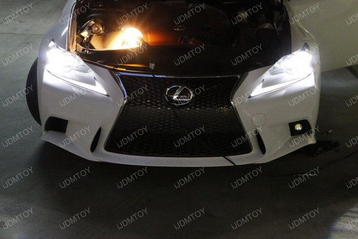 Lexus IS F Sport Fog Installation 13
