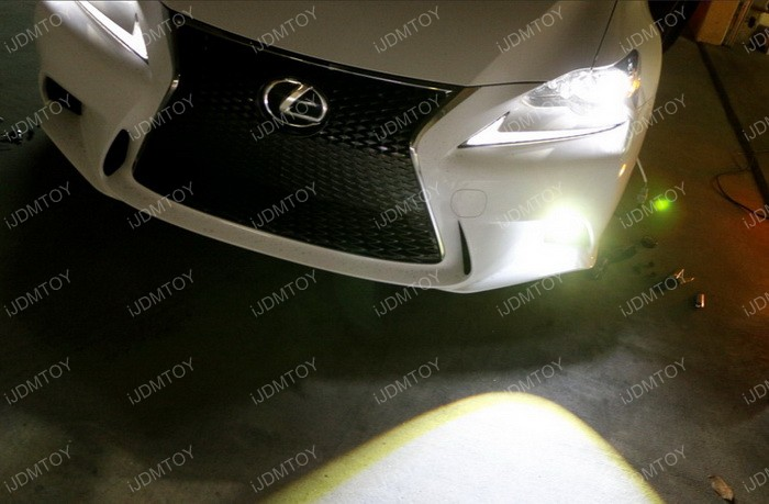 Lexus IS F Sport Fog Installation 19