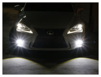 2014-up Lexus IS250/IS350 F-Sport LED Fog Light Installation Guide