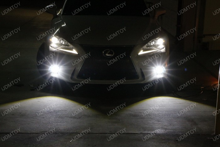 Lexus IS F Sport Fog Installation 21