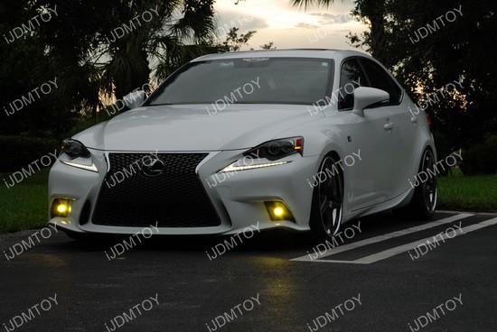 Lexus IS Fsport LED Fog Lights 02