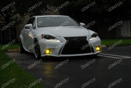 Lexus IS Fsport LED Fog Lights 05