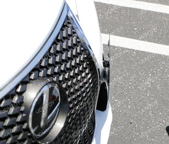 Lexus IS License Plate Mount 02