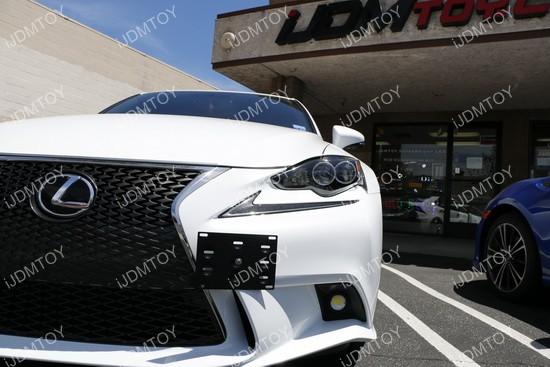 Lexus IS License Plate Mount 05