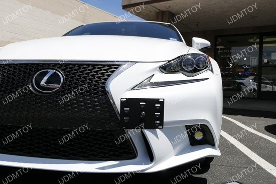 Lexus IS License Plate Mount 06
