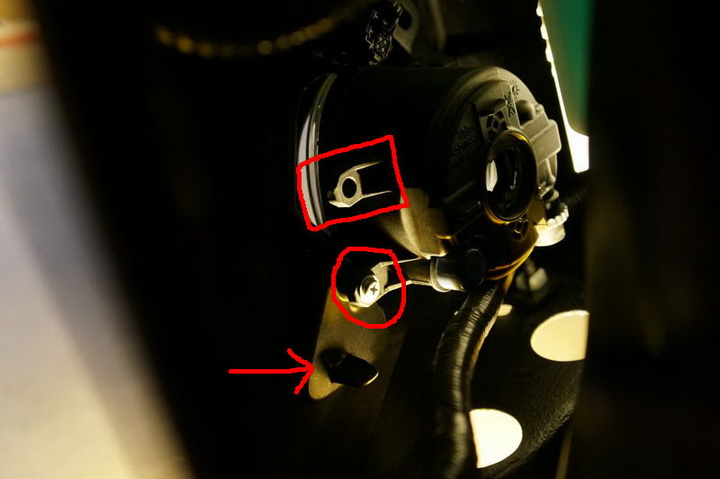 Lexus GS F Foglight 05