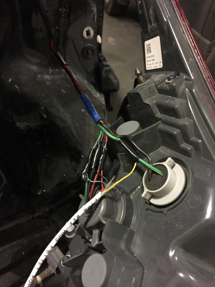 Install Lexus IS LED Bumper Reflector