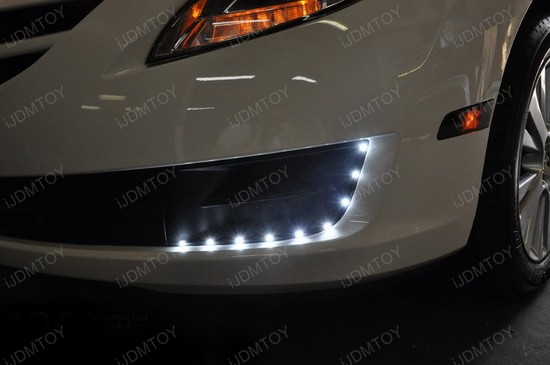 Mazda 3 Audi Style LED Strip Lights 3