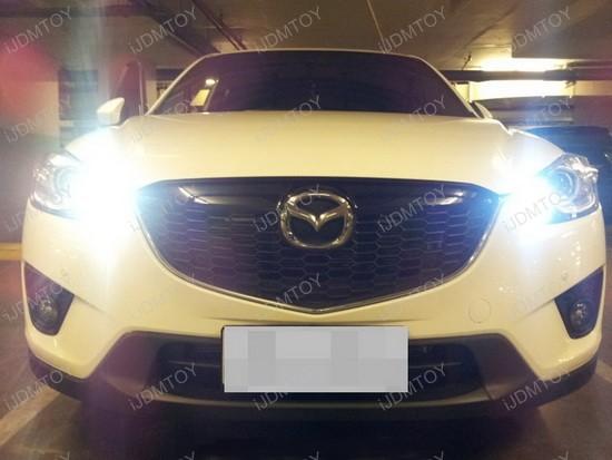 Mazda CX-5 9005 LED Daytime Running Lights 2