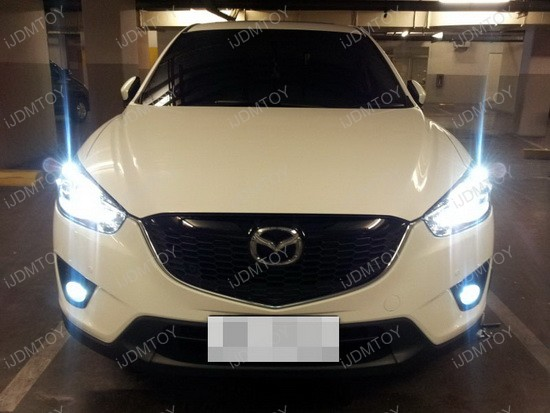 Mazda CX-5 9005 LED Daytime Running Lights 3