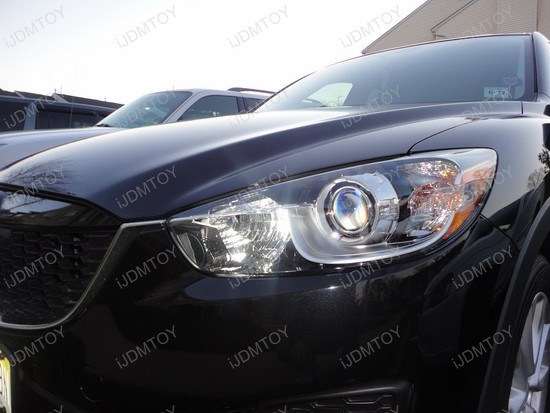 Mazda CX-5 High Beam LED Daytime Running Lights 3