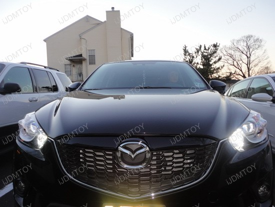 Mazda CX-5 High Beam LED Daytime Running Lights 4