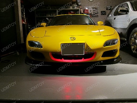 Mazda RX-7 Under Hood RGB LED Knight Rider Scanner 2 & LED Under Hood Lights | iJDMTOY Blog For Automotive Lighting azcodes.com