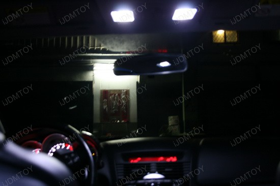 Mazda RX-8 LED Interior Light Package 1
